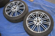 Passage Racing Wheels Rare 17x7 JDM Rims Monoblock Drift Spares Pair