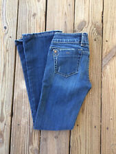 "Miss Me DISTRESSED BOOT CUT Blue Jeans * 27"" x 28.5"""
