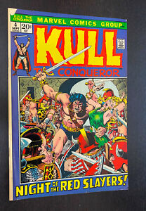 KULL THE CONQUEROR #4 (Marvel 1972) -- Bronze Age -- FN