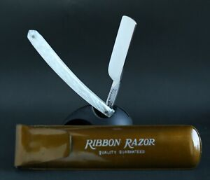 Shoulderless NOS Ribbon Extra Japanese Straight Razor 5/8 Shaving