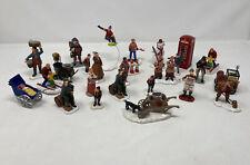Lemax Christmas Figurines Bundle 26 Items