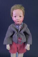 alter Käthe Kruse Puppenjunge - Kleines Deutsches Kind um 1930