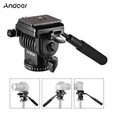 Andoer ABS 360°Fluid Video Action Head Panoramic Head forSlider Shooting Filming
