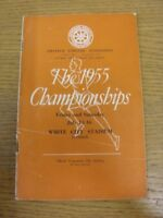 15/07/1955 Athletics Programme: AAA Championships [At White City] Official Progr