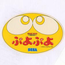 "NEW 1990s SEGA PUYO PUYO GAME GEAR PROMO STICKER - VINTAGE BIG 13cm (7"") JAPAN"