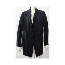 PIAZZA SEMPIONE / Black ACCORDIAN PLEATED SNAP FRONT JACKET Sz 44 HS924