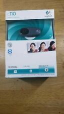 New Sealed Logitech C110 Web Cam