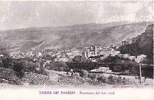 CARTOLINA INIZIO 900 TORRE DE' PASSERI - Panorama dal lato nord PESCARA ABRUZZO
