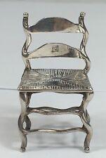 Antico In Argento In miniatura novità Chair-Continental Mark