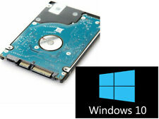 "500GB HDD/SSD 2.5"" SATA Hard Drive Laptop Internal With Windows 10 Pro Installed"