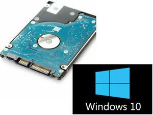 "500GB HDD/SSD 2.5"" SATA Hard Drive Laptop Internal With Windows 10 Pro Installed"