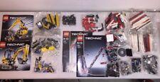 (2) LEGO Technic (1) Rare Crawler Crane Set #8288 & (1) Compact Excavator #8047