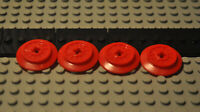 Lego Train Wheel red 55423c01 57999 65629 kompatibel z Sets 40370 10254 7597 etc