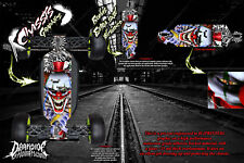 LOSI 8IGHT-T 3.0 2.0 'TICKET TO RIDE' CHASSIS WRAP HOP UP DECALS FITS TLR241009