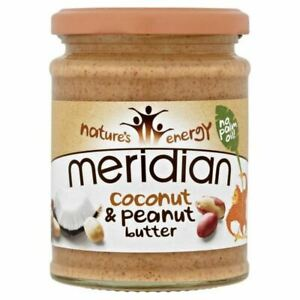 Meridian Coconut & Peanut Butter 280g (Pack of 6)