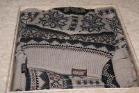 Cute !! MUKLUKS Reversible Scarf, Hat 3-in-1 Gloves Gift Set - Gray Retail $36