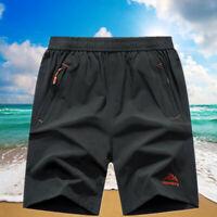 Mens Fitness Shorts Bottom Park Dri-Fit Mens Sports Football Gym Shorts S-XL X63