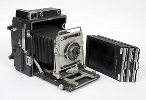 """Graflex Speed Graphic """"special"""" 4X5 camera with 135mm F4.7 lens"""