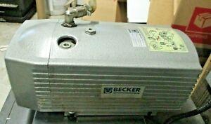 BECKER OIL-LESS ROTARY VANE VACUUM PUMP VT 4.16