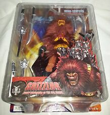 "MOTU  Grizzlor 7"" Mini Statue Masters Of The Universe He-Man 2005  NEW Sealed"