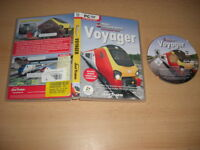 VOYAGER Add-On Expansion Pack for RAIL SIMULATOR Sim Pc DVD Rom nm FAST DISPATCH
