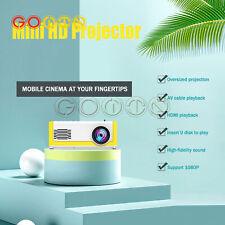 Home lcd projector Theater Cinema USB AV Mini Portable Full HD 3D LED with dvd