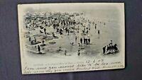 Ostende Beach Postcard