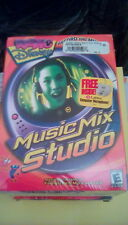 Radio Disney Music Mix Studio Record & Mix Your Own Songs BIG Box PC CD Game NEW