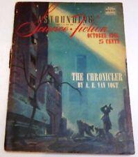 October Vintage Paperback Sci-Fi Magazines