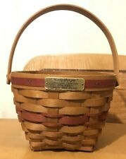 Longaberger Christmas Collection - 1994 Jingle Bell Basket