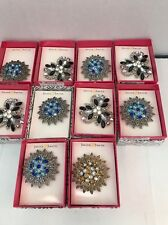 LOT OF 10 Jaclyn Smith  BROOCHES  ***NEW IN ORIGINAL BOXES***wholesale Lot