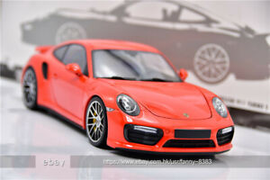 Minichamps 1:18 2016 Porsche 911 Turbo S Orange