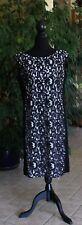 Ralph Lauren Spitzenkleid creme/schwarz Größe 42 US14 UK16