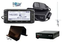 Icom ID-5100A Deluxe VHF/UHF D-STAR Radio and Accessory Bundle for Base Install