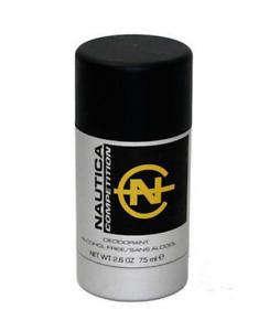 NAUTICA COMPETITION Yellow Deodorant Alcohol Free 2.6oz - 75ml Men -RARE- (IC19