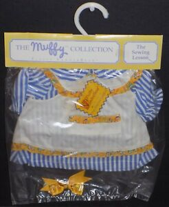 FLUFFY VANDERBEAR THE SEWING LESSON OUTFIT 4360