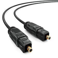 2m Optisches Toslink Kabel -  Digital Audio Hifi - SPDIF / LWL  Kabeldicke 2,2mm