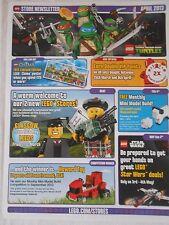 LEGO newsletter negozio APRILE 2013