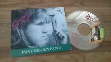 CD Pop Straight Up - Many Million Faces (2 Song) MCD PENG REC cb