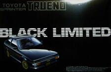 Extremely Rare!!! Aoshima 1/24 Scale Toyota Sprinter Trueno AE86 Black Limited