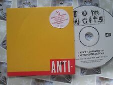 Tom Waits ‎– How's It Gonna End Label: Anti- ‎– 1177-2  CD, Single, Promo