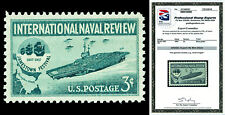 Scott 1091 1957 3c Naval Issue Mint Graded Superb 98 NH with PSE Certificate!