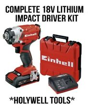 Einhell 18v Impact Driver Complete Cordless Kit Power X-change