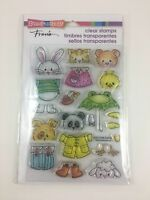 Stampendous Fran's Spring Short Stack Clear Stamp Set SSC1240 Animals