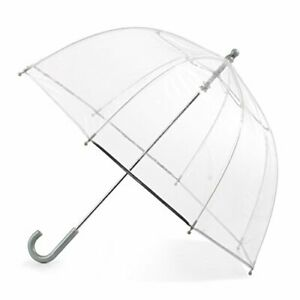 totes Kid's Bubble Umbrella with Easy Grip Handle Clear
