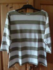 Chices T-Shirt Gr. 48  hübsche Blockstreifenv. Marco Pecci, neuwertig