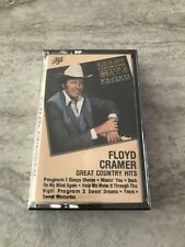 Floyd Cramer ~ Great Country Hits ~ Cassette Tape * Brand New Sealed *