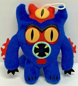 "Bandai Disney Big Hero 6 Fred Plush 5"" Blue Monster Alien"