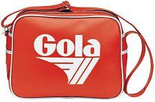 GOLA Bag Classic Redford Messenger Red White Retro 70s Athletic Sport Travel