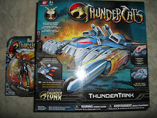 THUNDERCATS *THUNDERTANK w/ EXCLUSIVE SNARF FIGURE & LION-O FIGURE = MIP
